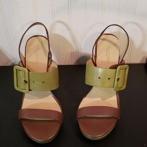 Kenneth Cole ladies key hole heels